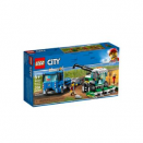 Le transport de l'ensileuse LEGO® City 60223