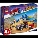 Boite de L'atelier Construire et Réparer d'Emmet et Benny LEGO® Movie 2™ 70821