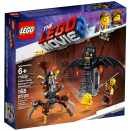 Batman™ en armure de combat et Barbe d'Acier LEGO® Movie 2™ 70836