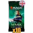 10 War of the Spark Booster Packs EN