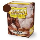 100 Pochettes Brown Classic - Dragon Shield