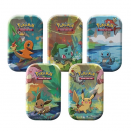 Pokémon - Kanto Friends Mini Tin Pack de 5