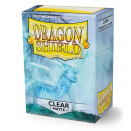 100 Sleeves Clear Matte - Dragon Shield