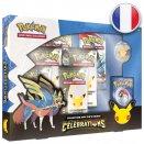 Boite de Coffret Pin's Célébrations Zacian - Pokémon FR