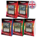 Lot des 5 Decks Commander 2020 - Magic EN