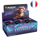 Boite de Boite de 24 boosters Commander Légendes - Magic FR