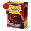 100 Sleeves Crimson Classic - Dragon Shield