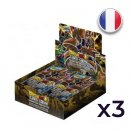 Set of 3 Displays of 24 booster packs Giant Force Expansion Booster 03 - Dragon Ball FR