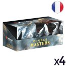 Set of 4 Double Masters Displays - Magic FR
