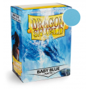 100 Sleeves Baby Blue Matte - Dragon Shield