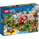 Ensemble de figurines - Les aventures en plein air LEGO® City 60202