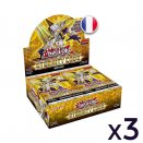 3 displays of 24 Eternity Code booster packs  Yu-Gi-Oh! FR