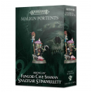 Fungoid Cave-Shaman Snazzgar Stinkmullett - Warhammer Age of Sigmar Malign Portents Moonclan