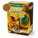 100 Sleeves Gold Classic - Dragon Shield