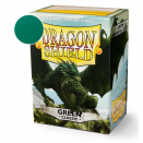 100 Sleeves Green Classic - Dragon Shield