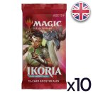 Lot de 10 boosters Ikoria La Terre des Béhémoths - Magic EN