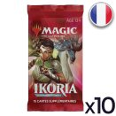 Lot de 10 boosters Ikoria La Terre des Béhémoths - Magic FR