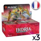 Lot de 3 boites de 36 boosters Ikoria La Terre des Béhémoths - Magic FR