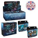 Pack #3 : Boite + Bundle + Lot des 2 Decks Commander Kaldheim - Magic EN