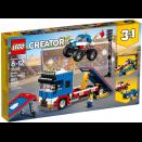 Le spectacle des cascadeurs LEGO® Creator 31085 pas cher