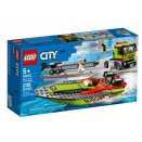 Le transport du bateau de course LEGO® City 60254