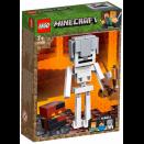 Boite de Bigfigurine Minecraft Squelette avec un cube de magma LEGO® 21150