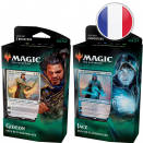 Set of both War of the Spark Planeswalker Decks FR