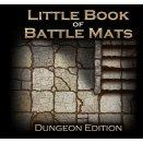Boite de Livre plateau de jeu : Little Book of Battle Mats Dungeon