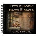 Boite de Livre plateau de jeu : Little Book of Battle Mats Towns & Taverns