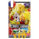 Dragon Ball 10 Booster Packs B03 Cross Worlds FR