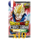 10 boosters Dragon Ball Série 2 Union Force VF