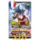 Dragon Ball 10 Booster Packs B04 Colossal Warfare FR