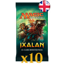 10 boosters Ixalan VO