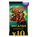 10 boosters Ixalan Russe
