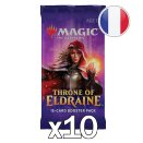 10 boosters Le Trône d'Eldraine VF
