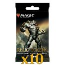 Lot de 10 boosters MTG Relic Tokens Lineage Collection - Ultra Pro EN