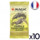 Lot de 10 boosters Spirale Temporelle Remastered - Magic FR
