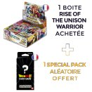 Boite de 24 boosters Rise of the Unison Warrior - Dragon Ball FR