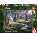 Puzzle 1000 pièces Disney - Kinkade : Blanche-Neige