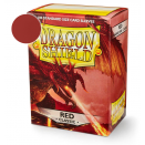 100 Sleeves Red Classic - Dragon Shield