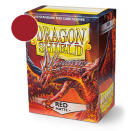 100 Sleeves Red Matte - Dragon Shield