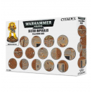 Sector Imperialis : socles ronds de 32mm