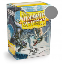100 Sleeves Silver Classic - Dragon Shield