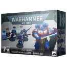 Spaces Marines : Assault Intercessors + Paint Set 60-11 - Warhammer 40000