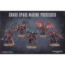 Chaos Space Marines : Chaos Space Marine Possessed - Warhammer 40000