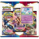 Pokémon Three-booster blister - Galarian Ponyta FR