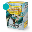 100 Sleeves Turquoise Classic - Dragon Shield