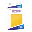 80 Sleeves Supreme UX Yellow Matte