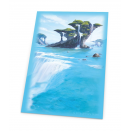 80 sleeves Lands Edition - Island