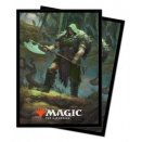 100 Throne of Eldraine Sleeves - Garruk, Cursed Huntsman